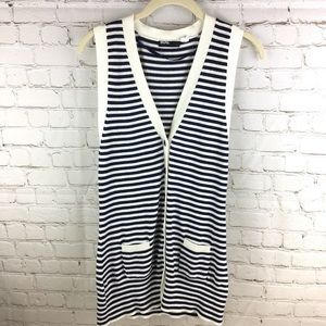 Urban Outfitters BDG Striped Long Sweater Cardigan